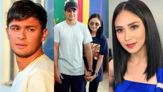 Sarah Geronimo, Matteo Guidicelli keep holding hands in Cebu school visit