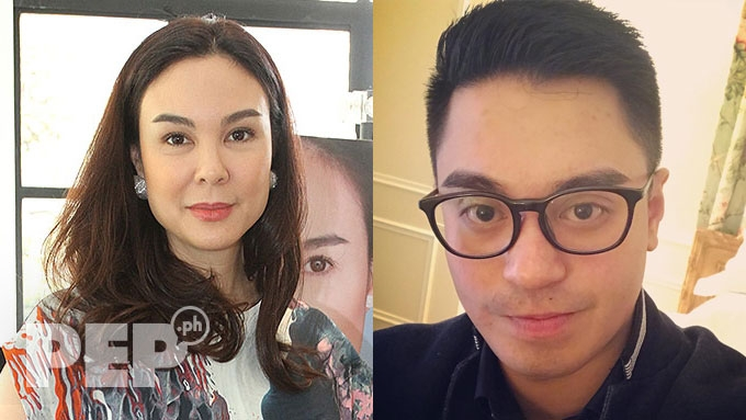 Nicko Falcis thanks Gretchen Barretto for supporting him