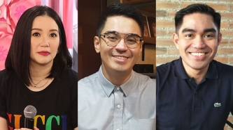 Nicko and Jess Falcis file two counts of grave threats against Kris Aquino