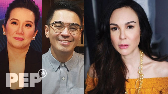 Gretchen Barretto posts about Kris-Nicko phone call