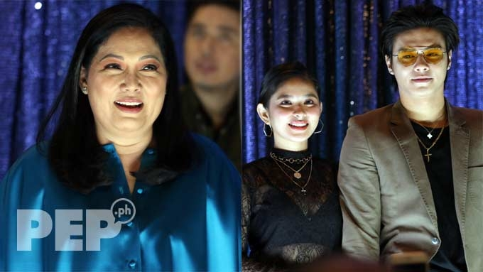Maricel Soriano kilig over Ronnie-Loisa relationship