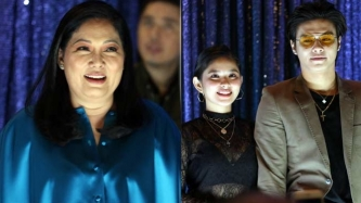 Maricel Soriano gets kilig over Ronnie Alonte-Loisa Andalio relationship