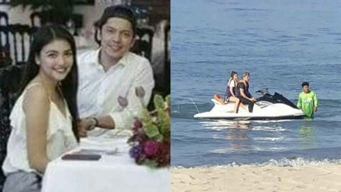 Carlo Aquino spotted with non-showbiz girl in La Union