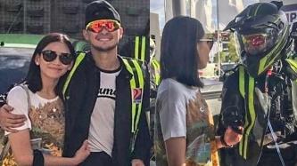 Sarah Geronimo shows affection for Matteo Guidicelli in Pampanga trip