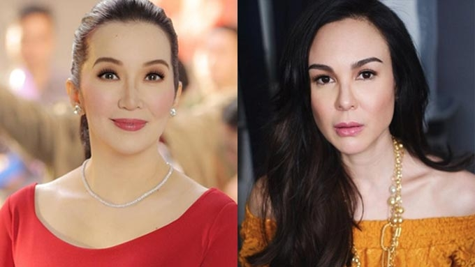 Kris Aquino refuses to confront Gretchen Barretto