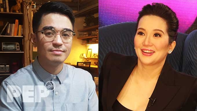 Nicko hits Kris for trivializing her threat to his life