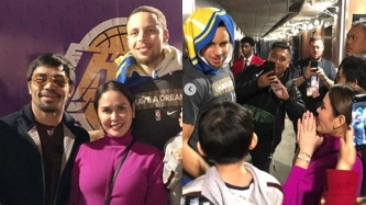 Jinkee Pacquiao fangirls over Golden State Warriors star player Stephen Curry