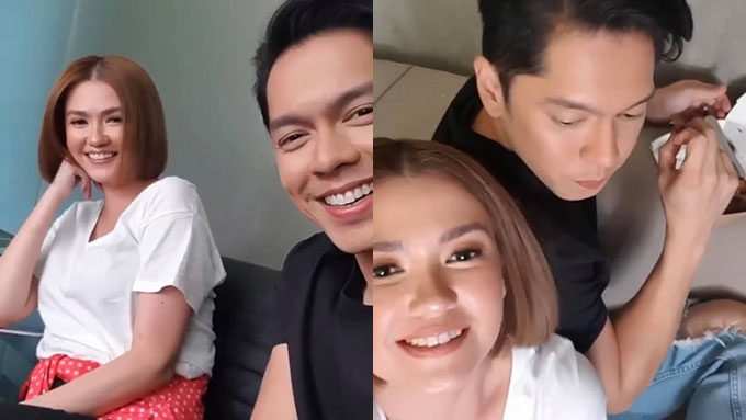 Angelica, Carlo post sweet videos together amid falling out