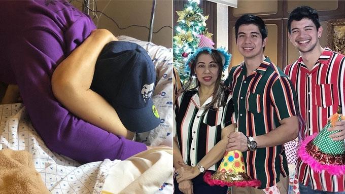 Rodjun and Rayver Cruz's mother passes away