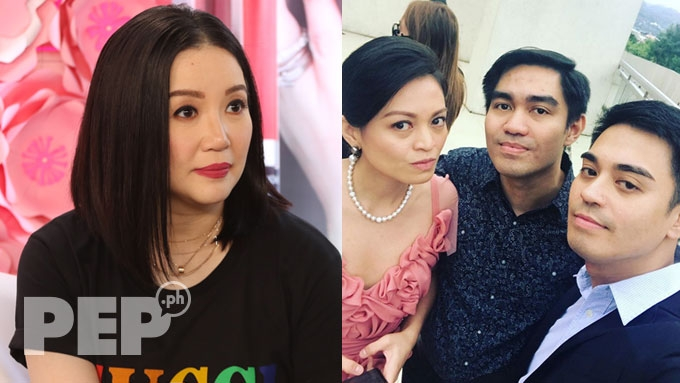 Nicko and Jess Falcis's sister says Kris Aquino is a fake