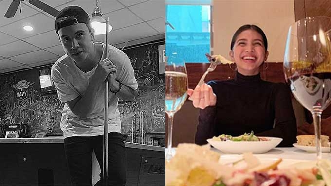 Maine Mendoza, Arjo Atayde go on a romantic date in the U.S.
