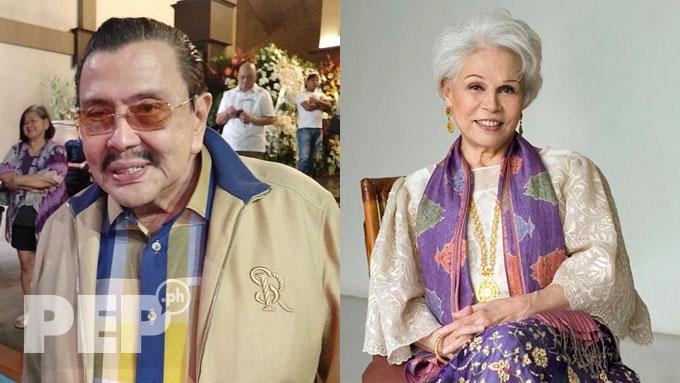 Erap Estrada mourns passing of Armida Siguion-Reyna