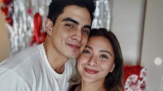Juancho Trivino cries over Joyce Pring's Valentine surprise