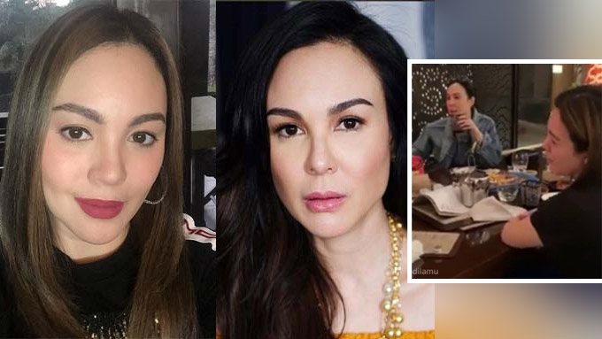 Gretchen and Claudine Barretto spotted dining together