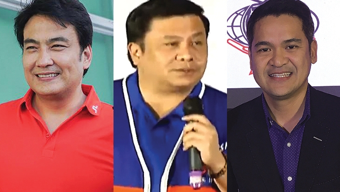 Bong, Jinggoy, Jiggy excluded from Duterte senatorial lineup