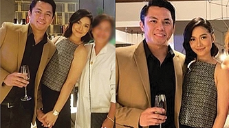Maja Salvador, rumored boyfriend Rambo Nuñez photographed holding hands at event
