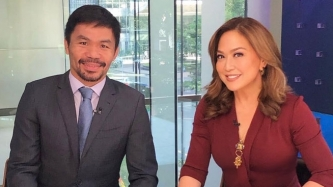 Manny Pacquiao appeals to netizens to stop bashing Karen Davila