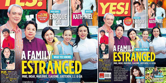 <em>YES!</em> probes on estranged relationship of the famous but controversial Barretto family