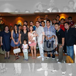 baptism of paolo contis and lian pazs daughter is a star