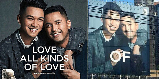 <p>Bench releases official statement on pro-gay billboard</p&