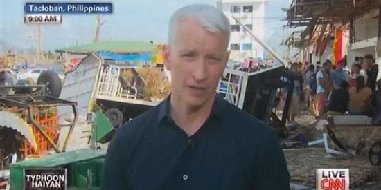 Anderson Cooper to Korina Sanchez: Go to Tacloban