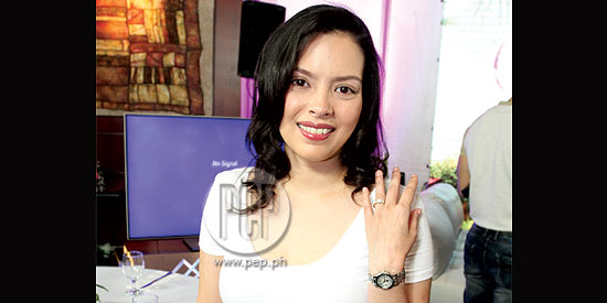 <p>Desiree del Valle confirms engagement to Boom Labrusca</p&
