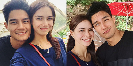 <p>Daniel and Erich post sweet photos on Instagram</p>