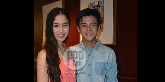 Khalil Ramos admits having a crush on Julia Barretto