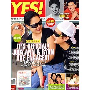 Judy Ann Santos and Ryan Agoncillo confirm their engagement in