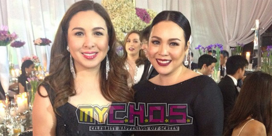 <p>Claudine and Marjorie reunite at Julia&rsquo;s debut party&