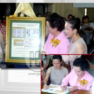 FPJ and other National Artists honored by PhilPost with