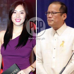 <strong>(UPDATED)</strong> President Noynoy Aquino admits he and TV personality Grace Lee are