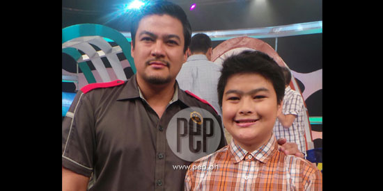 Jomari Yllana gets emotional as son Andrei joins showbiz