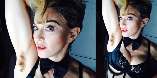 Madonna's Daughter Rocks Hairy Armpits On Red Carpet To Make Important Statement