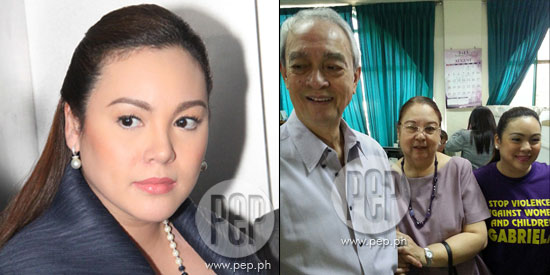 Claudine files violation of R.A. 9262 against Raymart