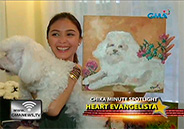 Heart Evangelista proud about her paintings