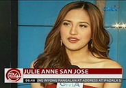 "Julie Anne San Jose's ""Tidal Wave"" has international"