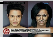 Comment on Paolo Ballesteros makeup transformation cause US TV host's