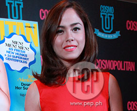 Jessy Mendiola on real score with Sam Milby