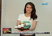 "Marian Rivera launches ""Kapuso Adopt a Bangka"" project"