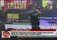 OFWs win in very first UAE's Got Talent Show