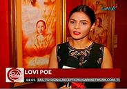 """Lovi Poe to play Gregoria de Jesus in historical movie """"Lakam"""