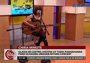 Glaiza de Castro excited and preparing well for her very first concert