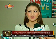 Carla Abellana feels flattered by Tom Rodriguez's songs and poems