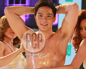 "Alden Richards talks about ""oily"" performance in Cosmo Bac"