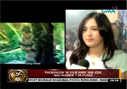 "Julie Anne San Jose sings ""Pagbangon"" for Yolanda victims"
