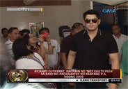 "Richard Gutierrez pleads ""not guilty"" to Reckless Im"