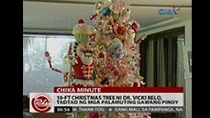 Vicki Belo's Christmas tree