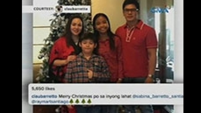 Claudine and Raymart together this Christmas