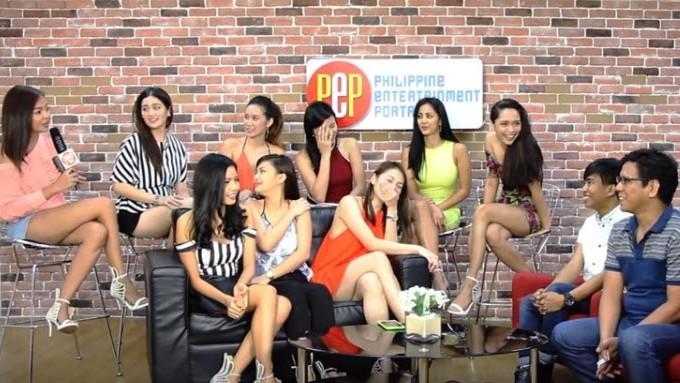 <em>PEP Talk</em> bloopers 2015